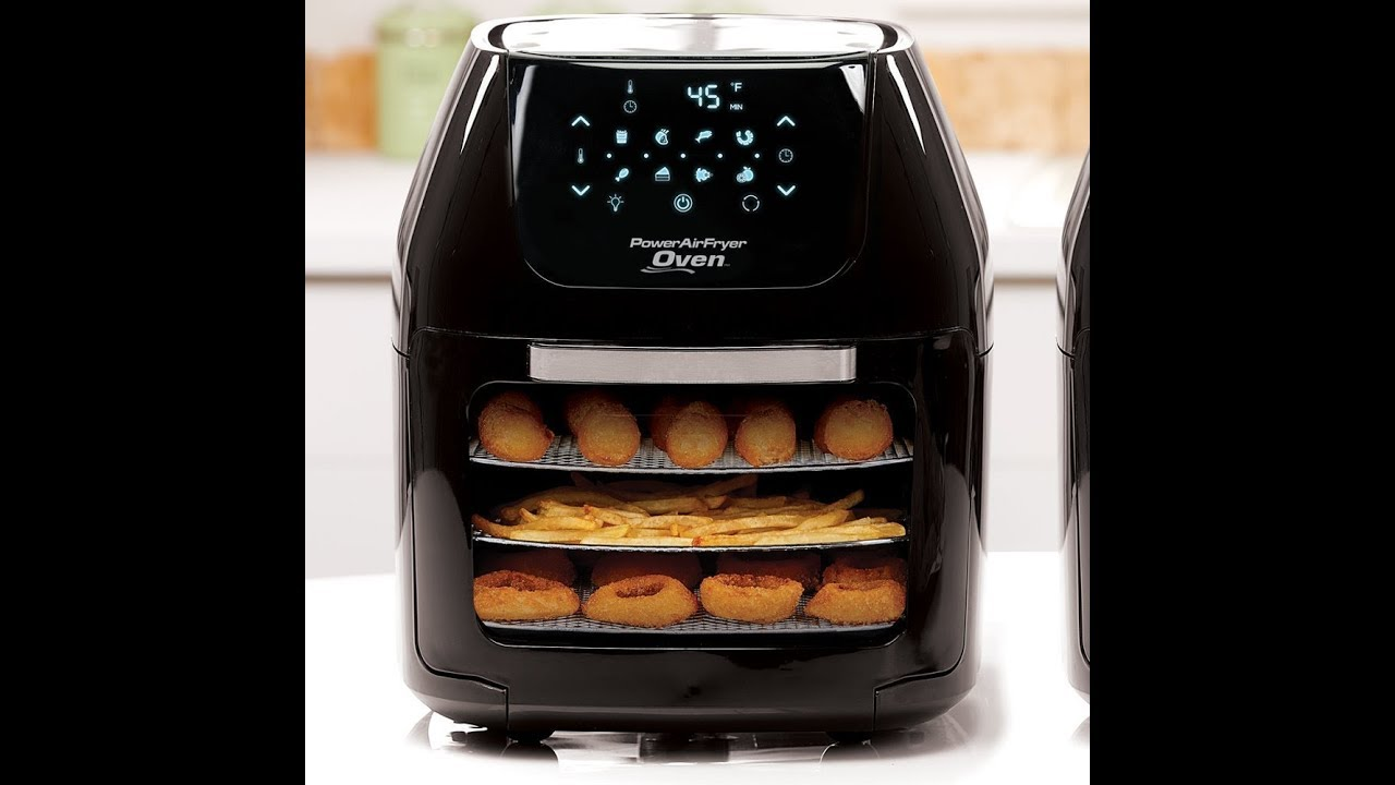 Power Air Fryer Oven To Replace Microwave And Toaster Oven
