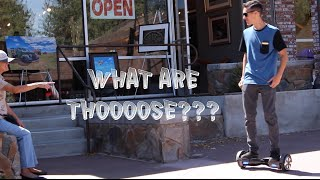 Letting Strangers Try Hoverboard/ Handsfree Segway IO Hawk In Public Reactions
