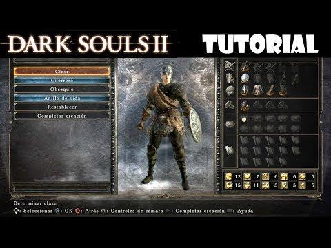 Dark Souls 2 guia: CREACIÓN DEL PERSONAJE (guerrero), introducción y tutorial || Episodio 1