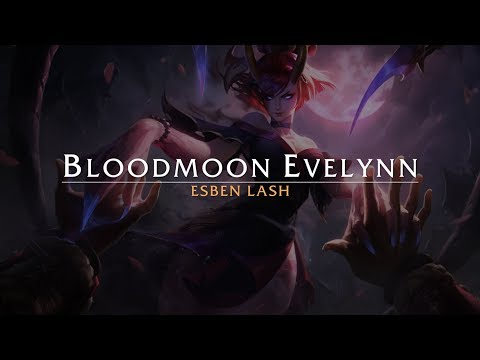 Blood Moon Evelynn - Process video