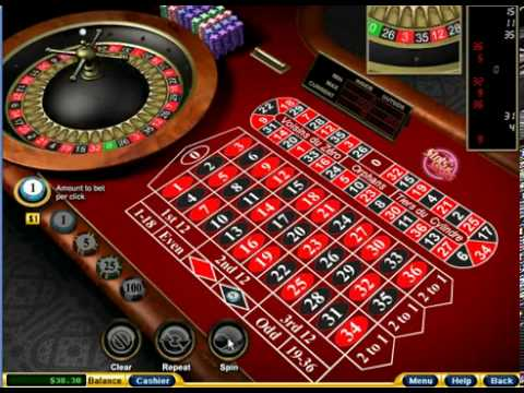 Betting in European Roulette With big win - YouTube