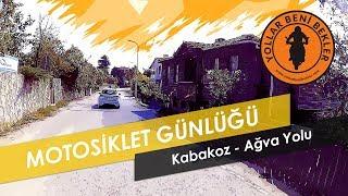 Motosiklet Günlüğü // Kabakoz - Ağva Yolu // KTM Duke 390