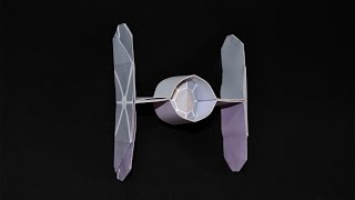 Origami: Spaceship Star Wars / Tie Fighter