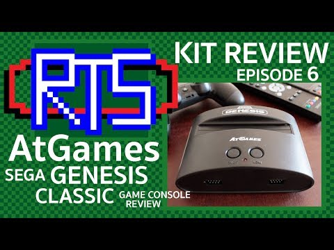Garbage-Level Gaming? AtGames Sega Genesis Classic Review - Kit Reviews, Episode 6 thumbnail