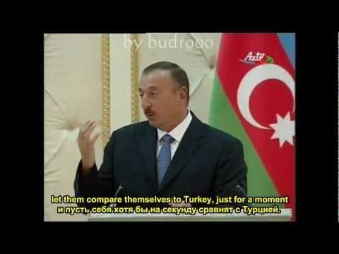 Алиев про Армению и Арарат и Карабах (Aliyev About Armenia And Ararat \u0026 Karabakh). Ararat (Арарат).