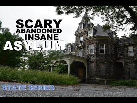 SCARY ABANDONED PSYCHIATRIC HOSPITAL + DOCUMENTARY (EXPLORING GUNDRY INSANE ASYLUM)