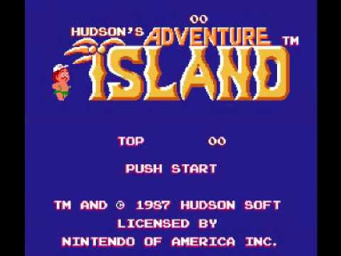Hudsons Adventure Island NES Music  Area 1 Round 1