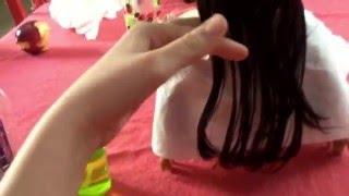Bir Ag Oyuncak Bebek Saçı nasıl Kesilir - Grace Thomas Kesilmiş Saçları Alır!!!