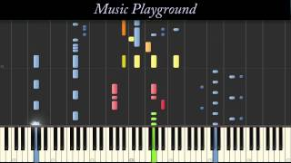 Repeat youtube video 120 {IMPOSSIBLE} Skrillex - Bangarang - Piano - Full (Synthesia)