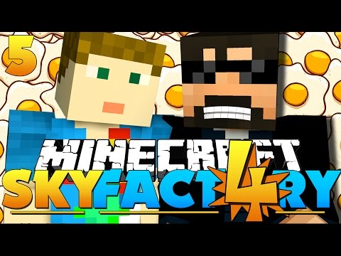 Minecraft: SkyFactory 4 -THE EGGCELENT EPISODE!! [5]