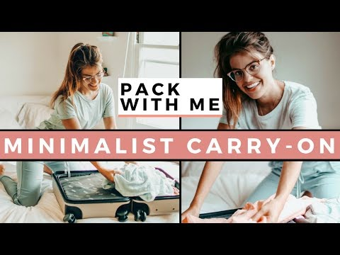 Minimalist Carry-On Packing Tips & Hacks For Female Travel