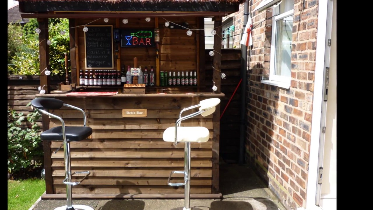 Epic Diy Outdoor Bar