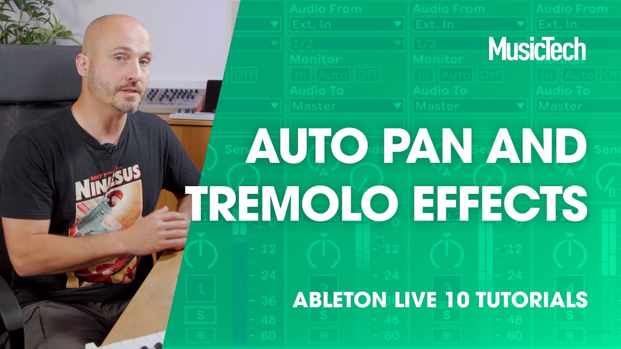 Learn how to get creative with Ableton Live's Auto Pan effect