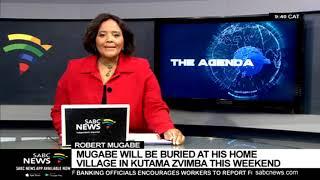 Mugabe to be laid to rest at his hometown Kutama Zvimba
