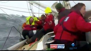 MENUDO SUSTO!! Hombre al agua, Rescate en alta mar, Clipper Round the world