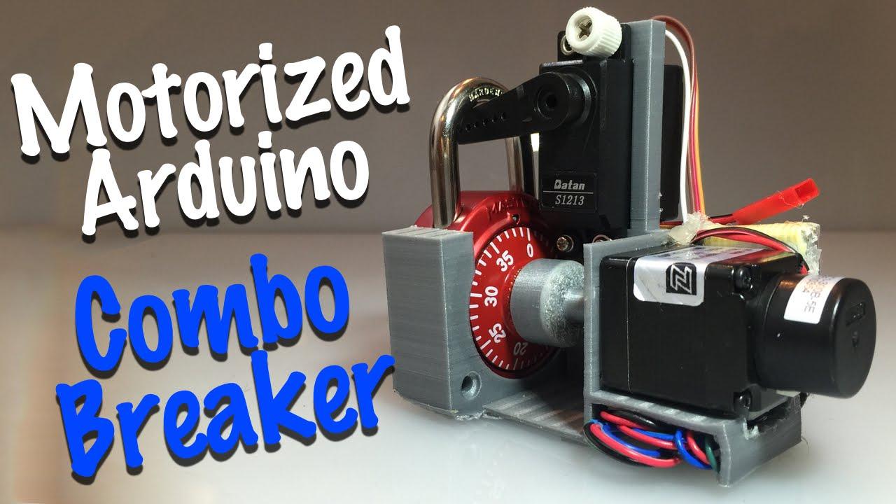 Combo Breaker Motorized Combo Lock Cracking Device Youtube
