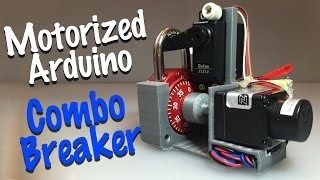 Combo Breaker - motorized combo lock cracking device