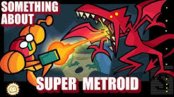 Something About Super Metroid ANIMATED SPEEDRUN (Loud Sound & Flashing Light Warning) 👩‍🚀🤜🐉