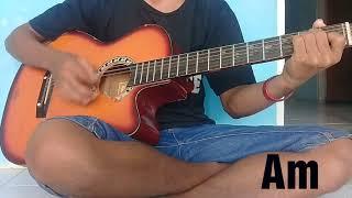 Belajar kunci gitar lagu malaysia sedalam dalam rindu
