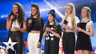 The Only Way Is Sweetchix! | Unforgettable Audition | Britain's Got Talent