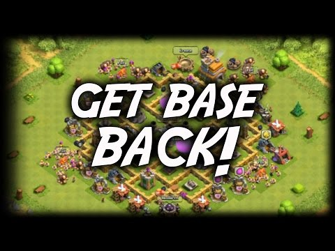 How To Get Back Your Clash Of Clans Account 2017 (How To Get Back Your Clash Of Clans Lost Account)