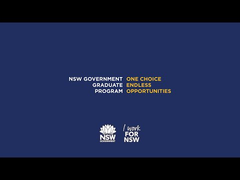 NSW Government Graduate Program - Overview