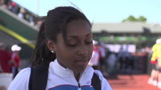 IAAF World Junior Championships 2014 - Rouguy DIALLO FRA Triple Jump Women Gold