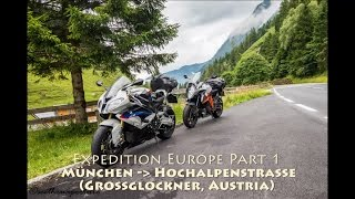 Europe Expedition (Part 1) - Ride in Alps Mountain - BMW S1000RR and KTM Super Duke GT 1290