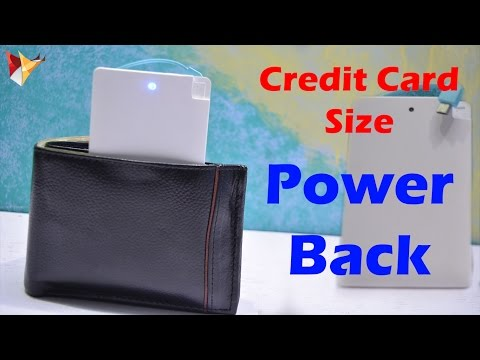 Credit Card Size Power Bank   Portable & Easy to Carry   Data Dock