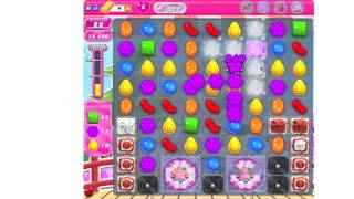 Candy Crush Saga Level 377 ★★★ no boosters (TUTORIAL)