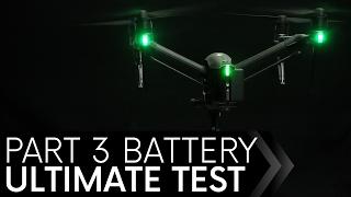 DJI Inspire 2 Battery Test Episode 3 INDOORS