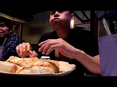BOYz Love to EAT! - 6lbs Godzilla roll challenge (shorter & PG ver.)