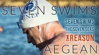 Lewis Pugh - Seven Swims; Aegean Sea