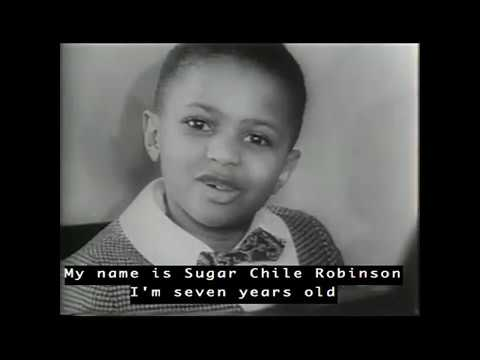 "The Story of Frank ""Sugar Chile"" Robinson"