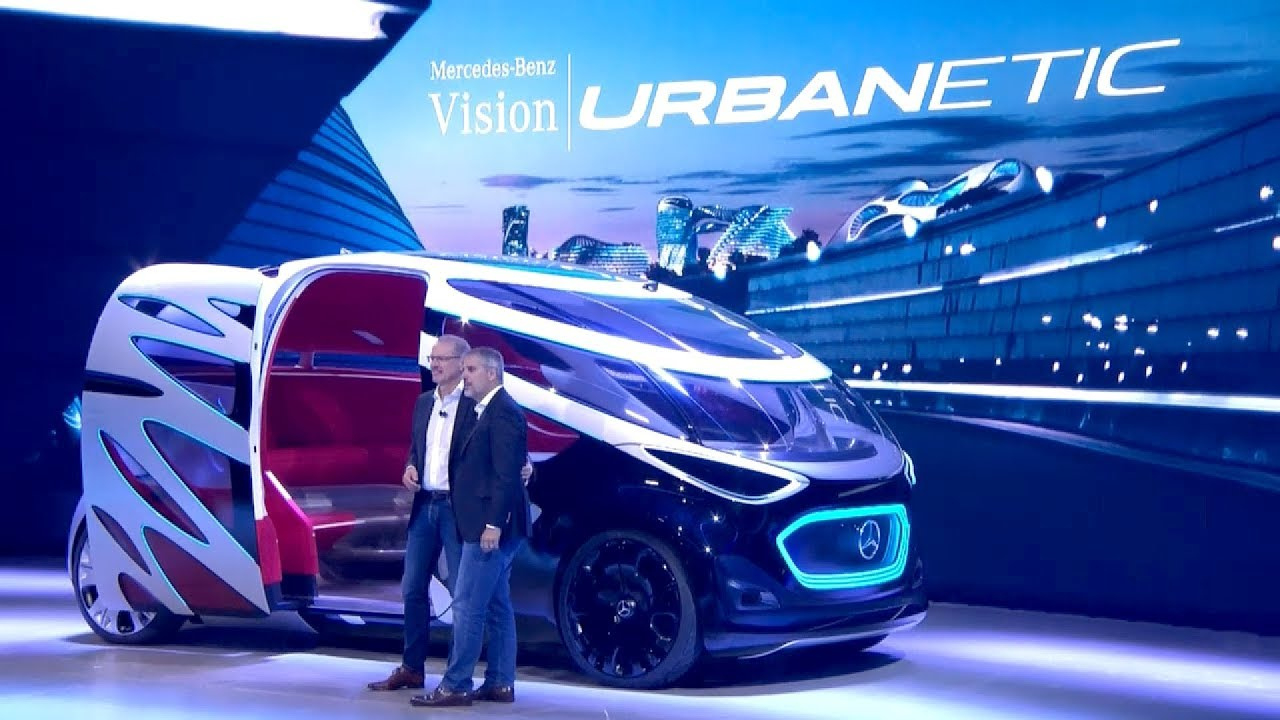 Mercedes Benz Vision Urbanetic World Premiere In Copenhagen Youtube