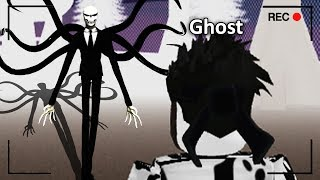 Escape SLENDERMAN With The GHOST.. (Roblox)