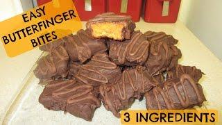 3 Ingredient Butterfinger Bites Recipe!!
