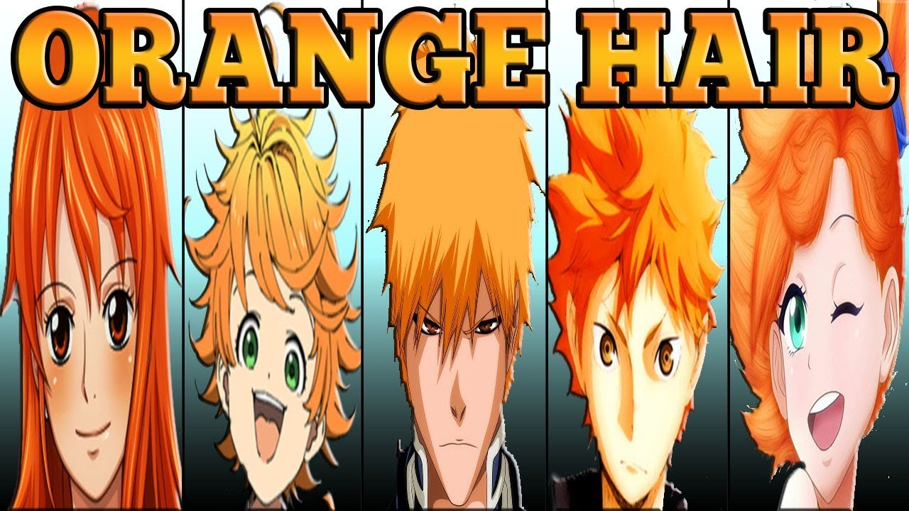 Orange-Haired Anime Characters