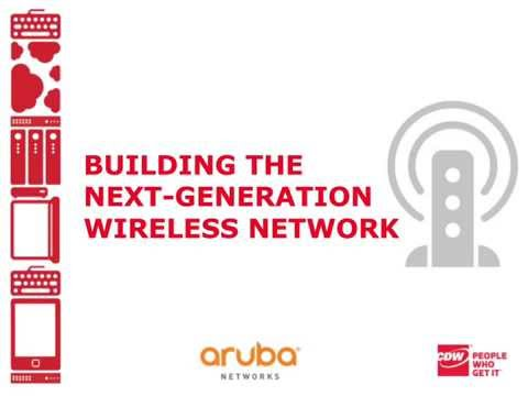 Building the Next Generation Wireless Network