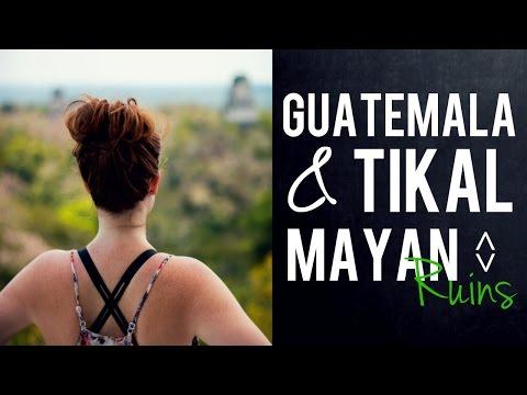 Guatemala + Tikal Mayan Ruins // Week In Review {Drone}