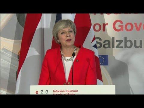 UE aumenta pressão sobre Londres