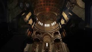 Rule, Britannia !  St. Paul's Cathedral London