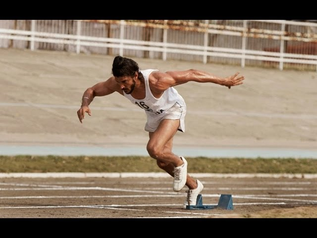 Farhan Akhtar Hard Training For Bhaag Milkha Bhaag Travel Video