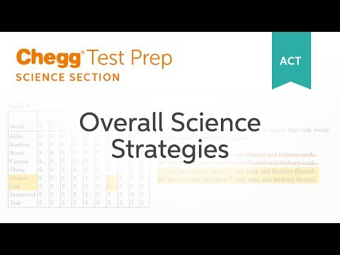 Overall Science Strategies | ACT | Test Prep