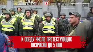 Тысячи украинцев вышли на «Михомайдан»