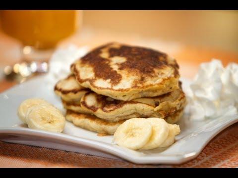 Tortitas o Pancakes de Platano estilo Brad Pitt