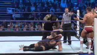 WWE Smackdown 4/20/12 Six-Man Tag Team Match Full (HQ)