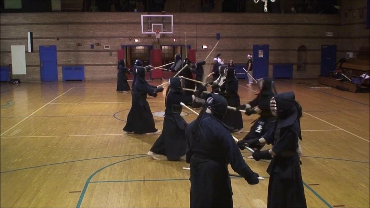Chicago kendo dojo practice 4 28 17 youtube for Kendo dojo locator