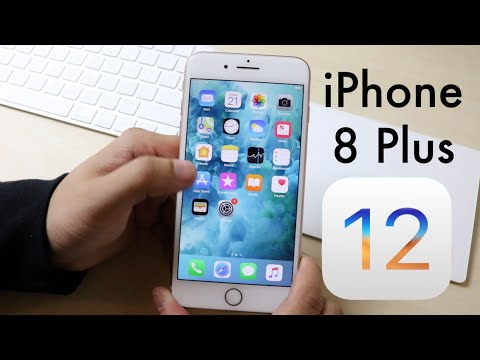 ios 12 official on iphone 8 plus review youtube. Black Bedroom Furniture Sets. Home Design Ideas