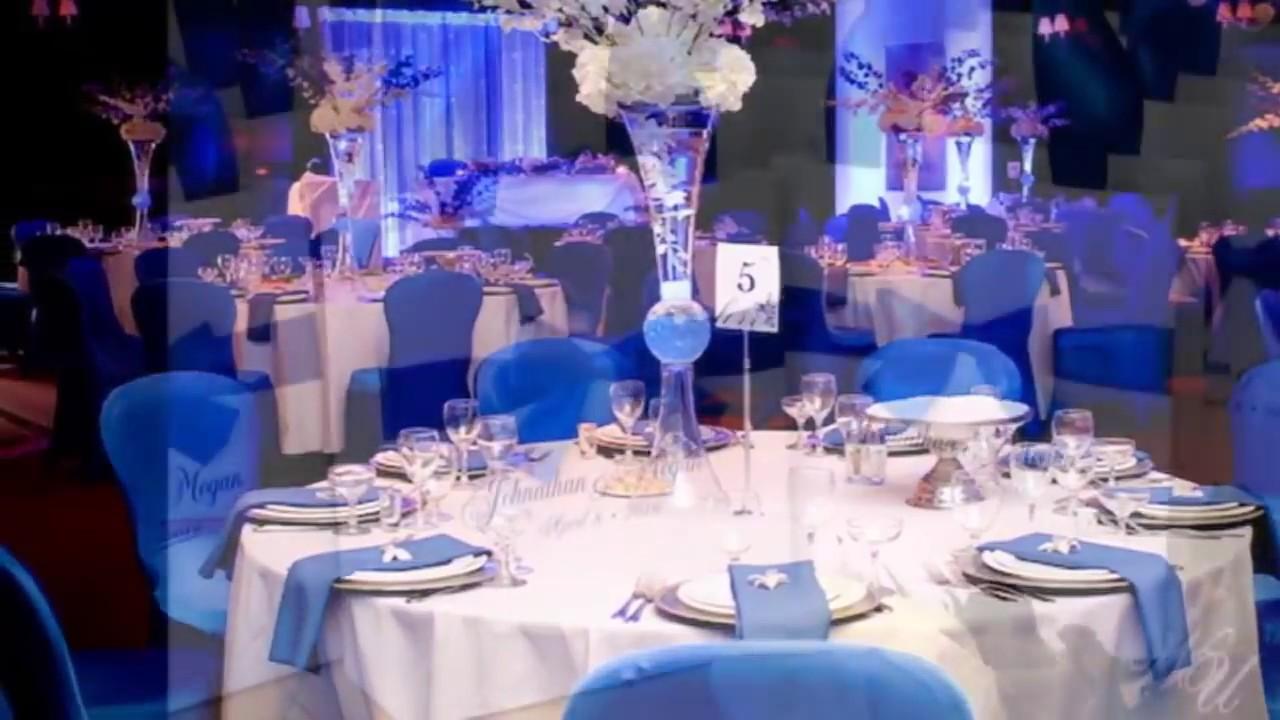 Royal Blue And White Wedding Theme